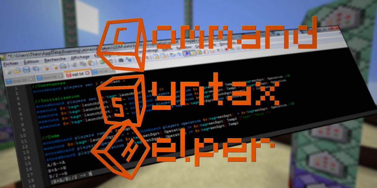 Outil de développement – Command Syntax Helper