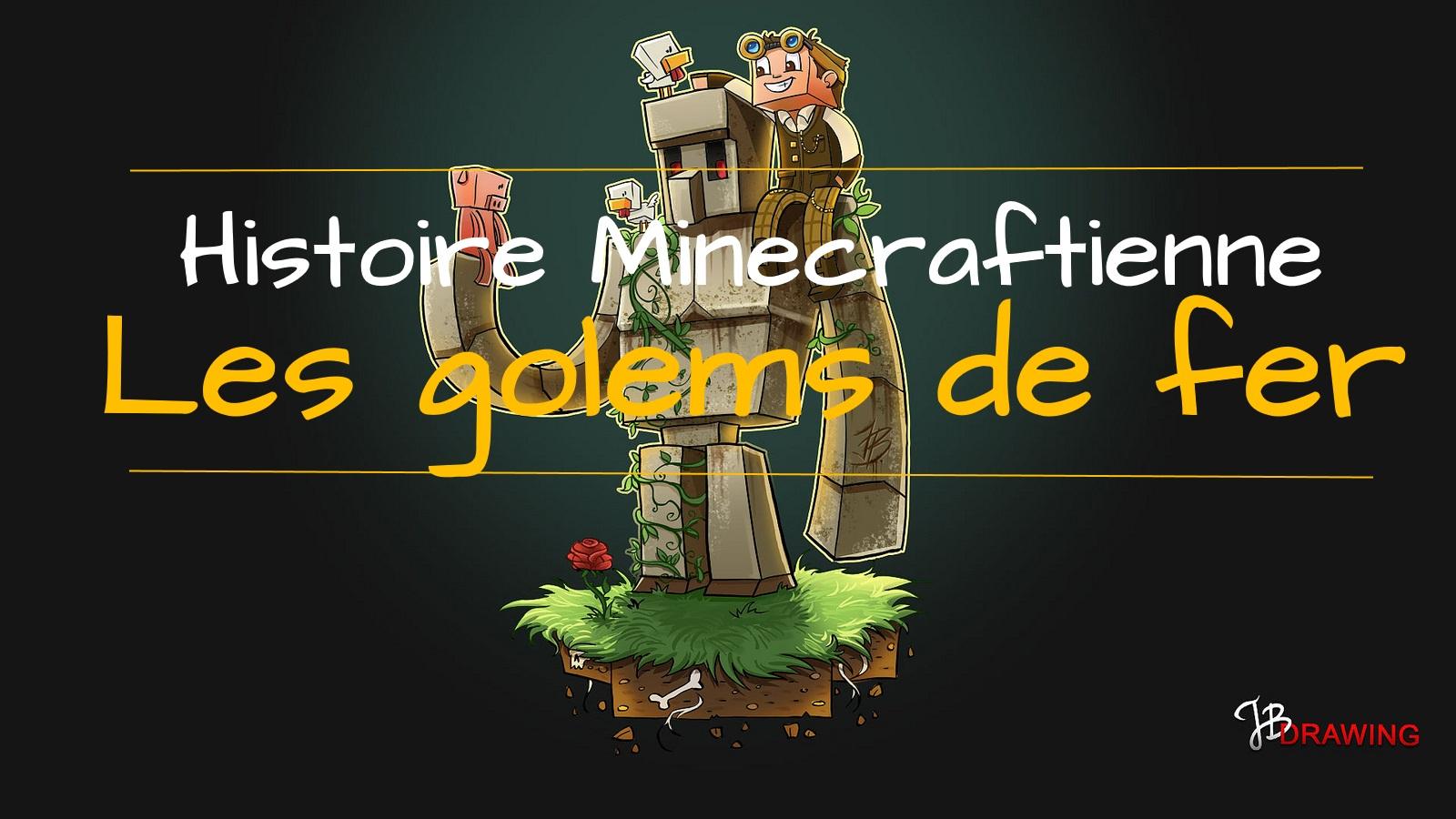 Une histoire minecraftienne les golems de fer - Minecraft golem de fer ...