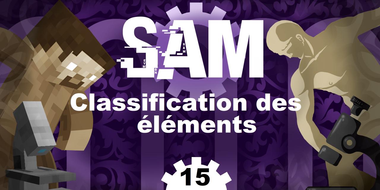 [SAM#15] – Classification des éléments et histoire des cubes