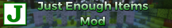 just enough items mod minecraft
