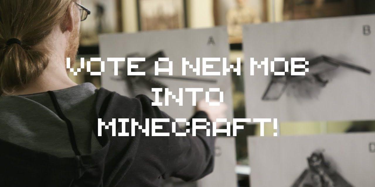 Un nouveau mob dans Minecraft ? Votez pour celui de votre choix !