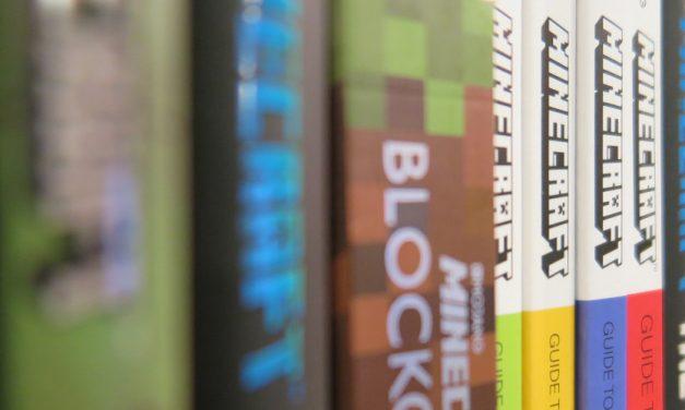 Les livres officiels Minecraft à ce jour
