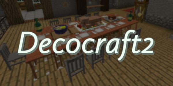 [Mod] Décocraft 2 – Plus de blocs décoratifs – 1.7.10 → 1.12.2