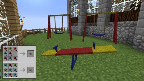 decocraft balançoire