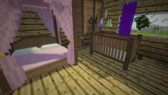 decocraft 2 chambre lit
