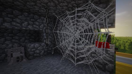 decocraft 2 donjon toile araignée géante