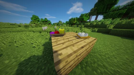 decocraft 2 table nourriture