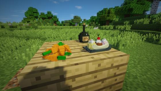 decocraft 2 table carotte