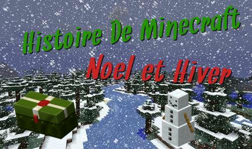 Histoire de Minecraft – Noël en pixel !