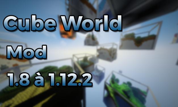 Cube World – Nouvelle génération de map !