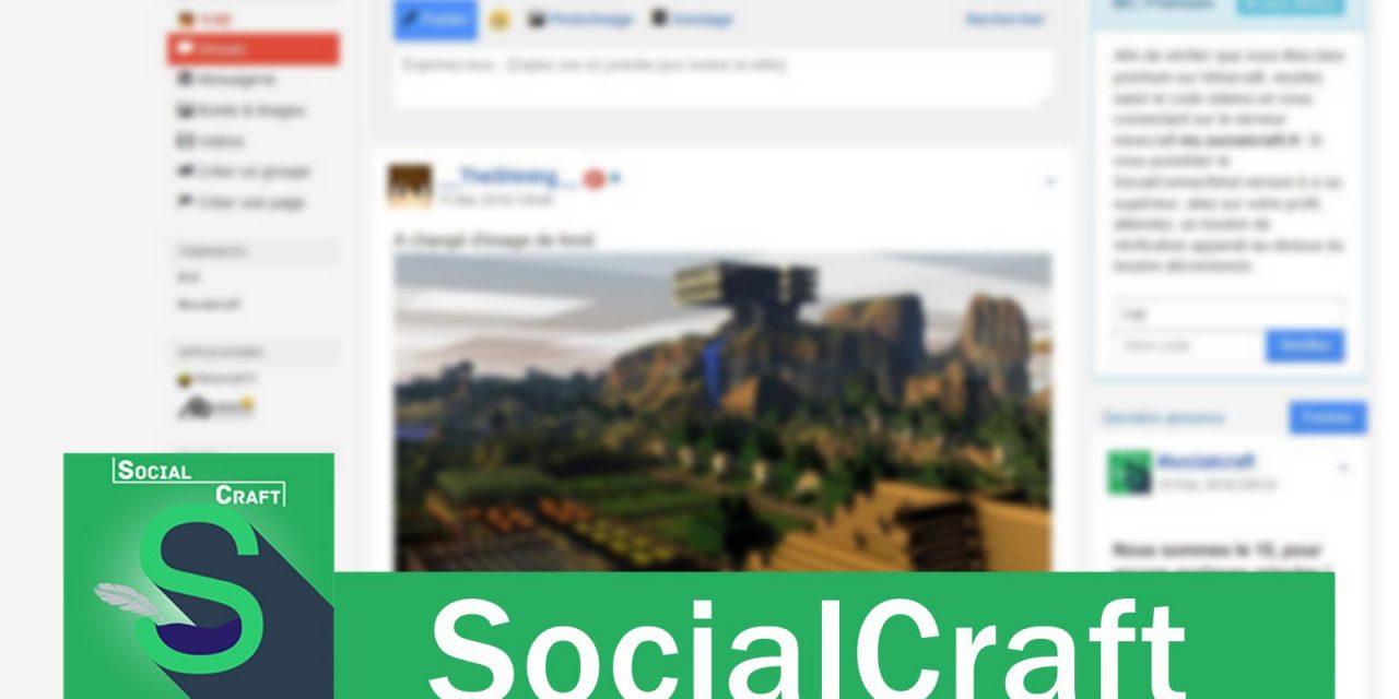 SocialCraft – Un réseau social multi-plateforme