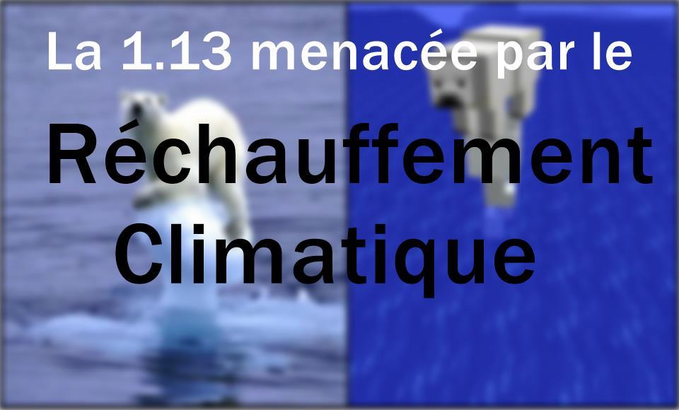 [Poisson d'avril] La 1.13 menacée par le réchauffement climatique
