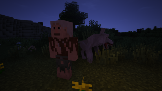 Villageois le jour, loup-garou la nuit.