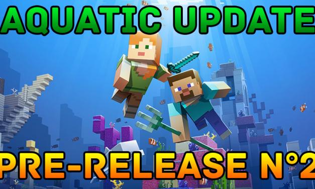 Aquatic update : Une nouvelle pre-release !