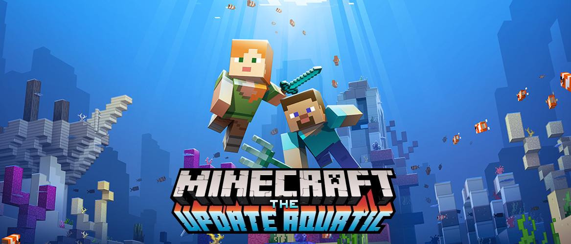 Aquatic Update – Minecraft 1.13