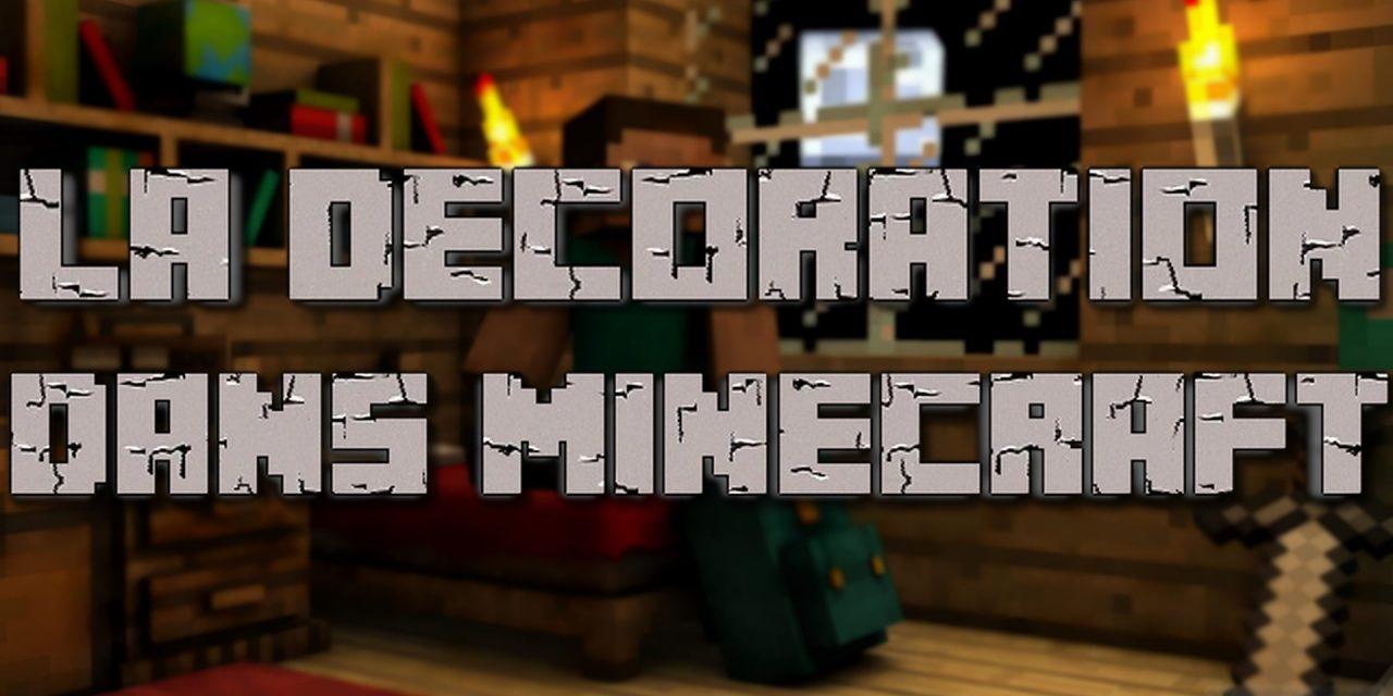 Idée de décoration dans Minecraft