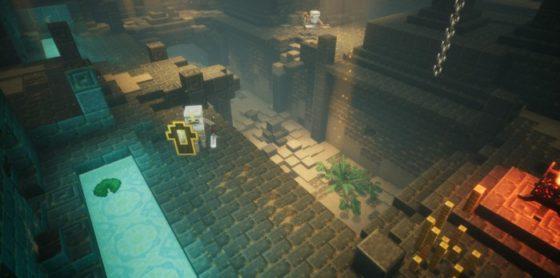 jeu minecraft dungeons