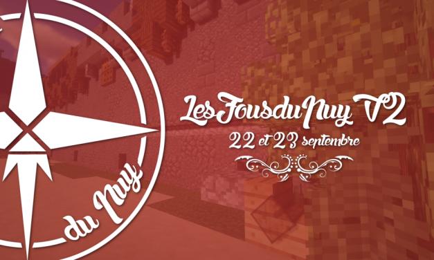 Les Fous du Puy – la folle ouverture le 22 septembre