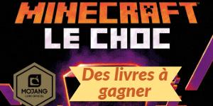 Nouveau roman officiel Minecraft : Le Choc – Tentez de le remporter !
