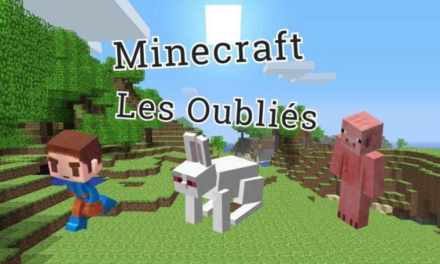 Les oubliés de Minecraft