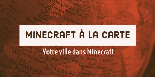Minecraft à la carte