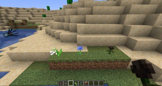 nouvelles fleurs minecraft 1.14