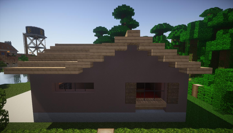 photo minecraft petite maison droite