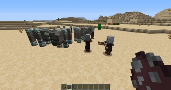 pillards minecraft 1.14