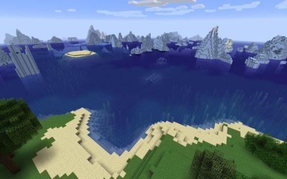 minecraft seed 1.13 iceberg ile