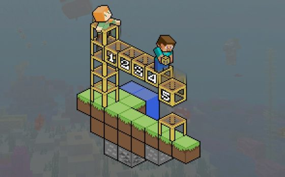 à quoi servent des échafaudages dans Minecraft