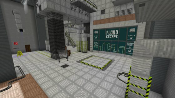 Flood Escape Map Minecraft Lobby