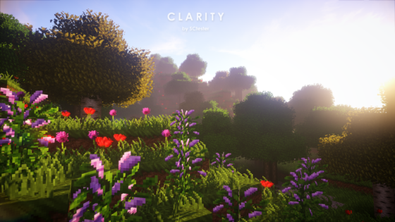 pack ressource minecraft clarity arbre