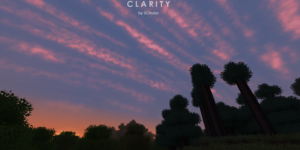 pack ressource minecraft clarity ciel sans shader