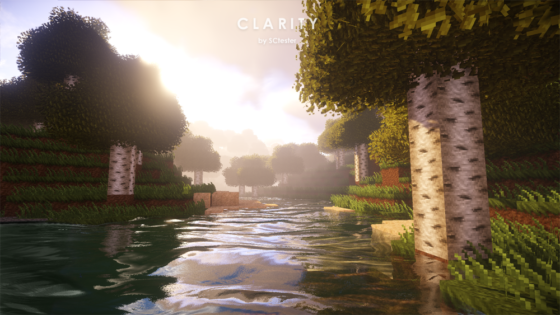 pack ressource minecraft clarity eau