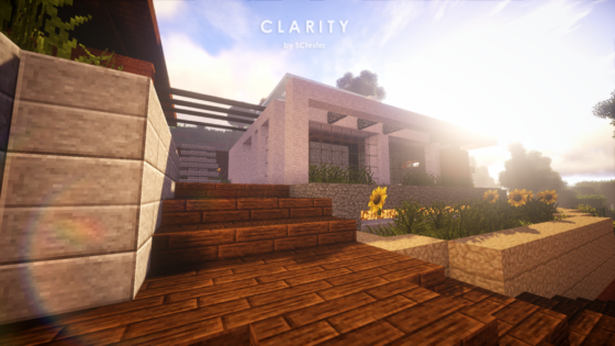 pack ressource minecraft clarity village maison