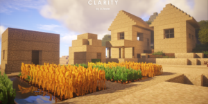pack ressource minecraft clarity village