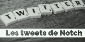 Les tweets du créateur de Minecraft «Notch»