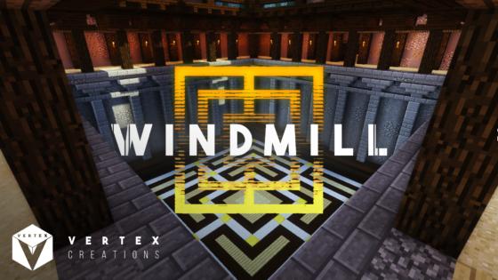 windmill map minecraft affiche