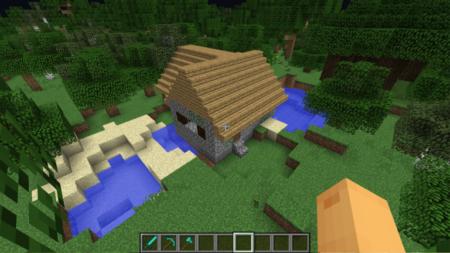 Additional structures cabane bois