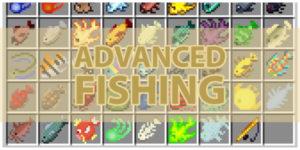 Advanced Fishing mod
