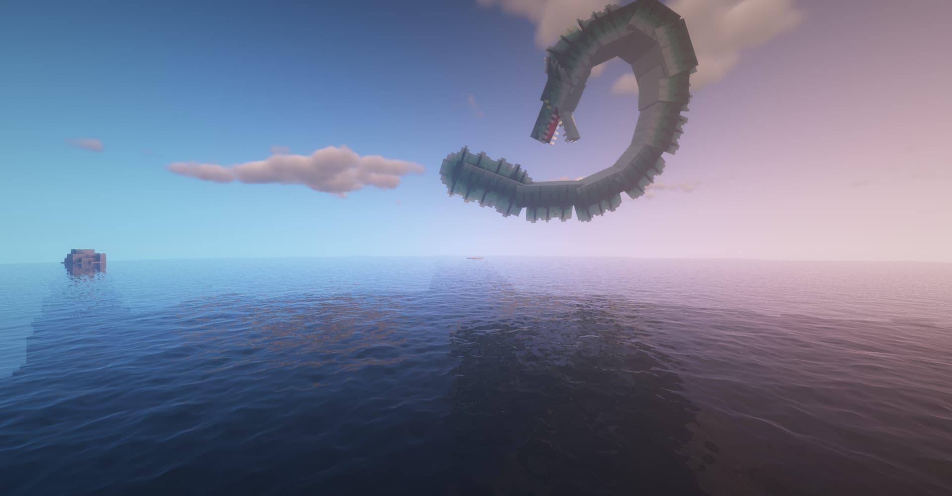 serpent de mer attaque