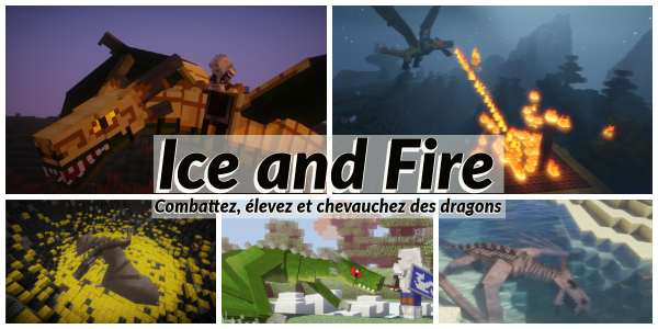 [Mod] Ice and Fire : Dragons in a whole new light – 1.10.2 → 1.12.2