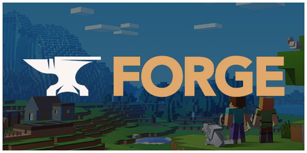 logo de minecraft forge
