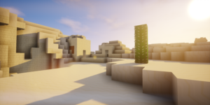 lokicraft pure cartoon pack de ressources minecraft desert