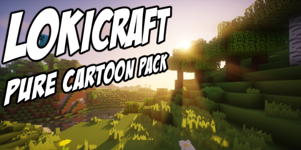 [Pack de Ressources] LoKiCraft PureCartoonPack – 1.8 → 1.13