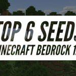 Top 6 des Seeds (graines) pour Minecraft Bedrock 1.9