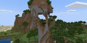 seed minecraft bedrock 1.9 colline extreme