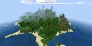 seed minecraft bedrock 1.9 île jungle