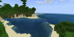 seed minecraft bedrock 1.9 île jungle plage