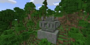 seed minecraft bedrock 1.9 île jungle temple